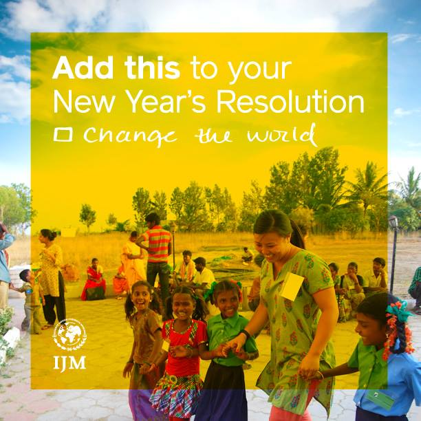 IJM-NewYearsResolution-changetheworld