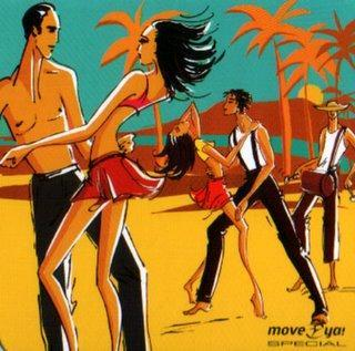 Salsa dancers (artwork)